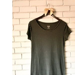 Mossimo Ribbed T-shirt Dress